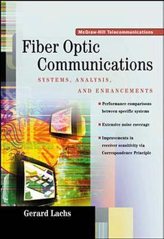 Cover of the book Fiber optic communications