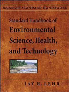 Couverture de l'ouvrage Standard handbook of environmental science, health and technology