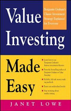 Cover of the book Value investing made easy: Benjamin Graham's classic investment strategy explained for everyone