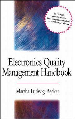 Cover of the book Electronic systems quality management handbook