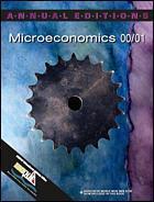 Couverture de l'ouvrage Annual editions : microeconomics 00/01 (5th edition) paper