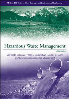 Cover of the book Hazardous waste management (hardback) (2nd edition 2001)