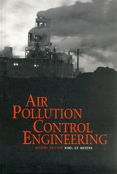Couverture de l'ouvrage Air pollution control engineering 2nd ed.