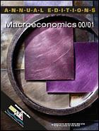 Cover of the book Macroeconomics 00/01 (13th edition)