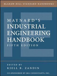 Cover of the book Maynard's industrial engineering handbook, 5th ed.
