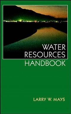 Cover of the book Water resources handbook