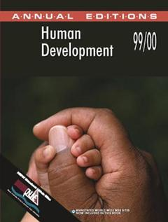 Cover of the book Human development 99/00 (27th edition) paper