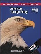 Cover of the book American foreign policy 99/00 (5th ed) paper