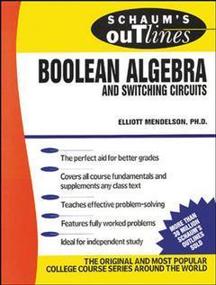 Cover of the book Boolean algebra SWI CIRC (Schaum)