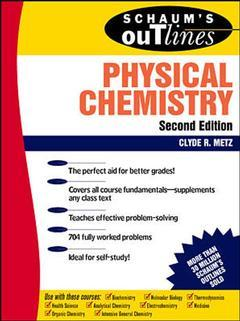 Cover of the book Physical chemistry (Schaum's outlines), 2nd ed.