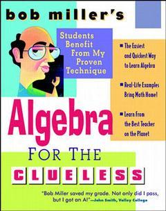 Cover of the book Algebra for the clueless