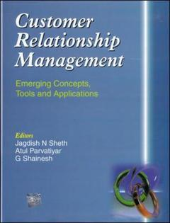 Cover of the book Customer relationship management: emerging concepts tools and applications