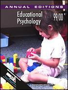 Couverture de l'ouvrage Annual editions : educational psychology 99/00 (14th edition) paper