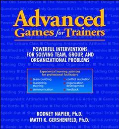 Couverture de l'ouvrage Advanced games for trainers
