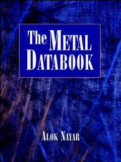 Cover of the book Metal databook