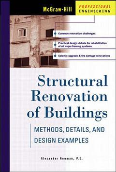 Cover of the book Structural renovation of buildings