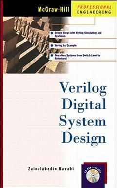 Cover of the book Verilog hardware description language: analysis & design of digital systems (book/CD)