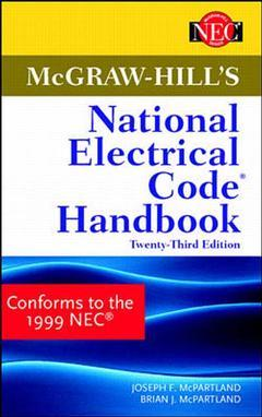 Cover of the book Mc Graw Hill's national electrical code handbook, 23rd ed 1999