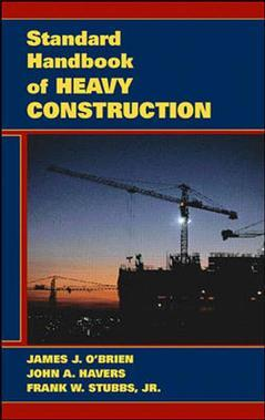 Couverture de l'ouvrage Standard handbook of heavy construction, 3rd ed 1996