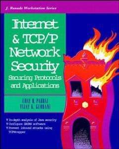 Cover of the book Internet and TCP/IP network security