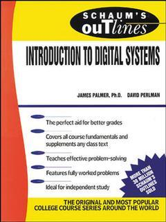 Couverture de l'ouvrage Introduction to digital systems (Schaum)