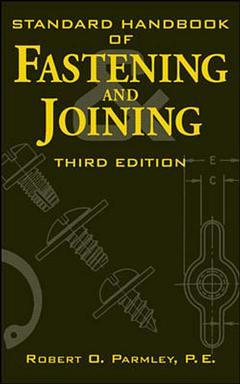 Cover of the book Standard handbook of fastening and joining (3rd ed' 96)
