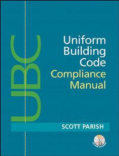 Couverture de l'ouvrage Uniform building code manual