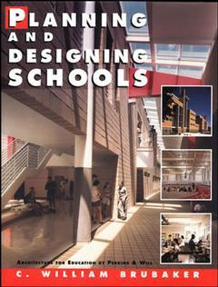 Cover of the book Planning and designing schools