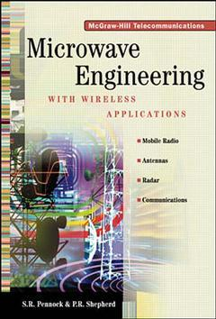Couverture de l'ouvrage Microwave engineering with wireless applications