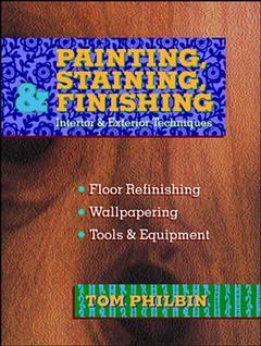 Cover of the book Painting, staining and finishing (bound)