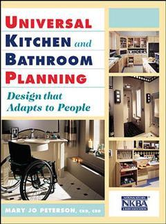 Couverture de l'ouvrage Accessible kitchens and bathrooms by design: universal design principles in practice