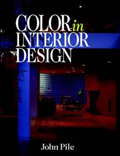 Couverture de l'ouvrage Color in interior design