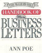 Couverture de l'ouvrage Handbook of business letters, 3rd ed 94 (paper)