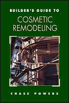 Couverture de l'ouvrage Builder's guide to cosmetic remodeling (paper)