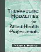 Couverture de l'ouvrage Therapeutic modalities for health relate professionals