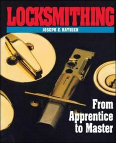 Couverture de l'ouvrage Locksmithing : from apprentice to master (paper)