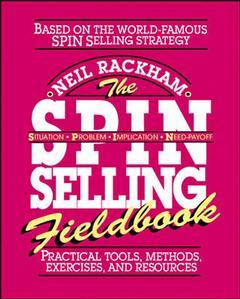 Couverture de l'ouvrage Spin Selling Fieldbook