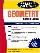 Couverture de l'ouvrage Geometry (Schaum's outline series / 2nd edition)