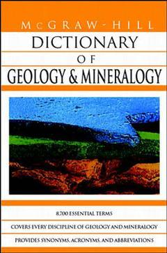 Couverture de l'ouvrage MGH dictionary of geology & mineralogy (paper)