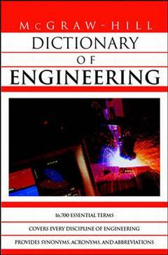Couverture de l'ouvrage MGH dictionary of engineering (paper)