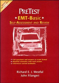 Couverture de l'ouvrage Emergency medical technician pretest : self-assessment and review