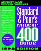 Couverture de l'ouvrage Standard & poor's midcap 400 guide, ed 1998 (paper)