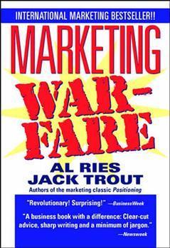 Couverture de l'ouvrage Marketing warfare