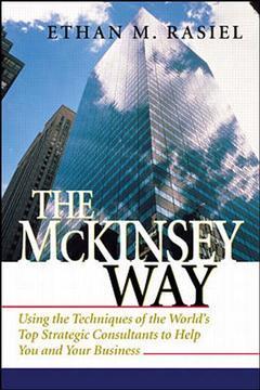 Couverture de l'ouvrage The Mckinsey way