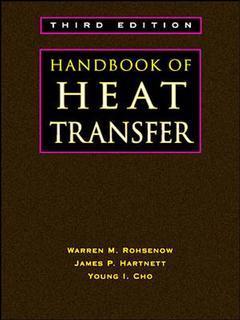 Couverture de l'ouvrage Handbook of Heat Transfer