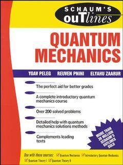 Couverture de l'ouvrage Schaum's outline of quantum mechanics