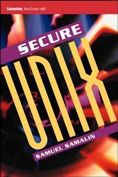 Couverture de l'ouvrage Secure Unix