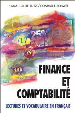 Couverture de l'ouvrage Finance et comptabilite en francais