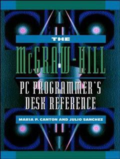 Couverture de l'ouvrage M.Hill programmer's desk reference