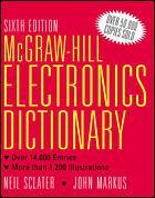 Couverture de l'ouvrage MGH dictionary of electronics, 6th ed 1997